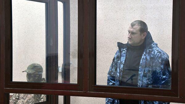 Denís Gritsenko, un tripulante de la lancha patrullera Berdiansk - Sputnik Mundo