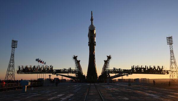 La nave espacial Soyuz MS-11  - Sputnik Mundo
