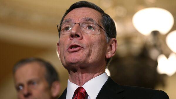 El senador republicano John Barrasso, representante del estado de Wyoming en el Senado estadounidense - Sputnik Mundo
