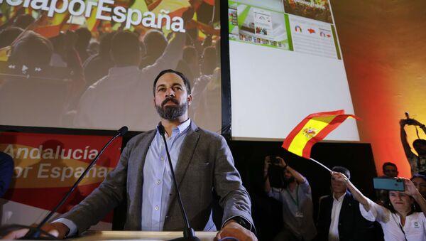 Santiago Abascal, el líder del partido Vox - Sputnik Mundo