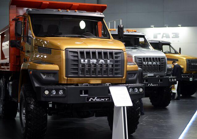 Camiones Ural Next (archivo)