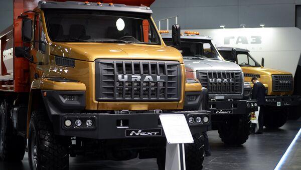 Camiones Ural Next (archivo) - Sputnik Mundo