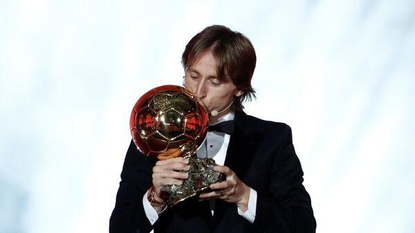 Luka Modric, jugador de fútbol croata - Sputnik Mundo