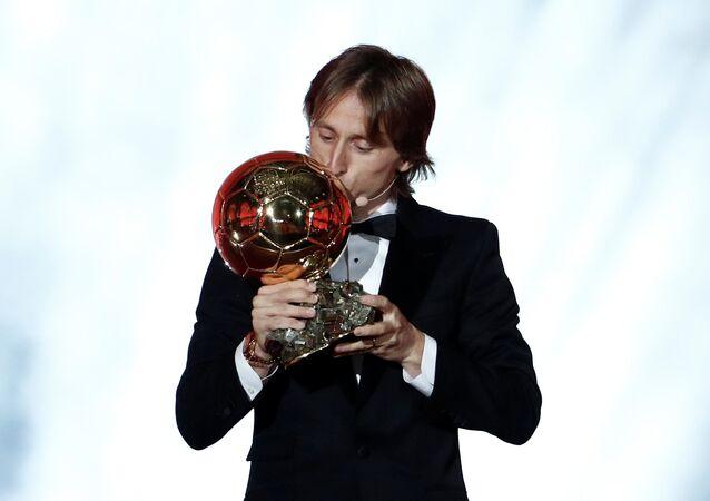 Luka Modric, jugador de fútbol croata