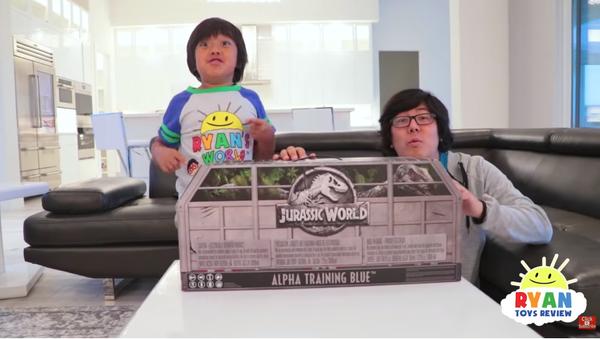 Ryan, el niño millonario de Youtube - Sputnik Mundo