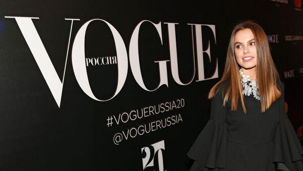 Las artistas más bellas de Rusia celebran los 20 años de Vogue en el país - Sputnik Mundo