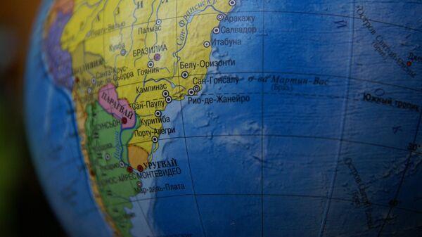 Mapa de América del Sur - Sputnik Mundo