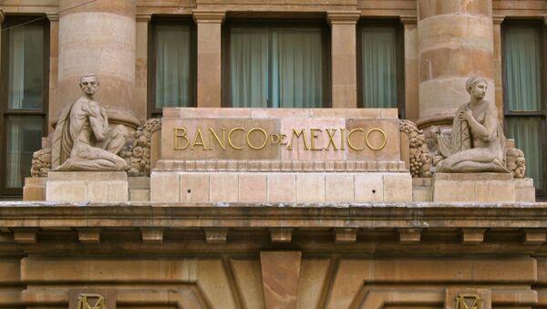 La fachada del Banco de México - Sputnik Mundo