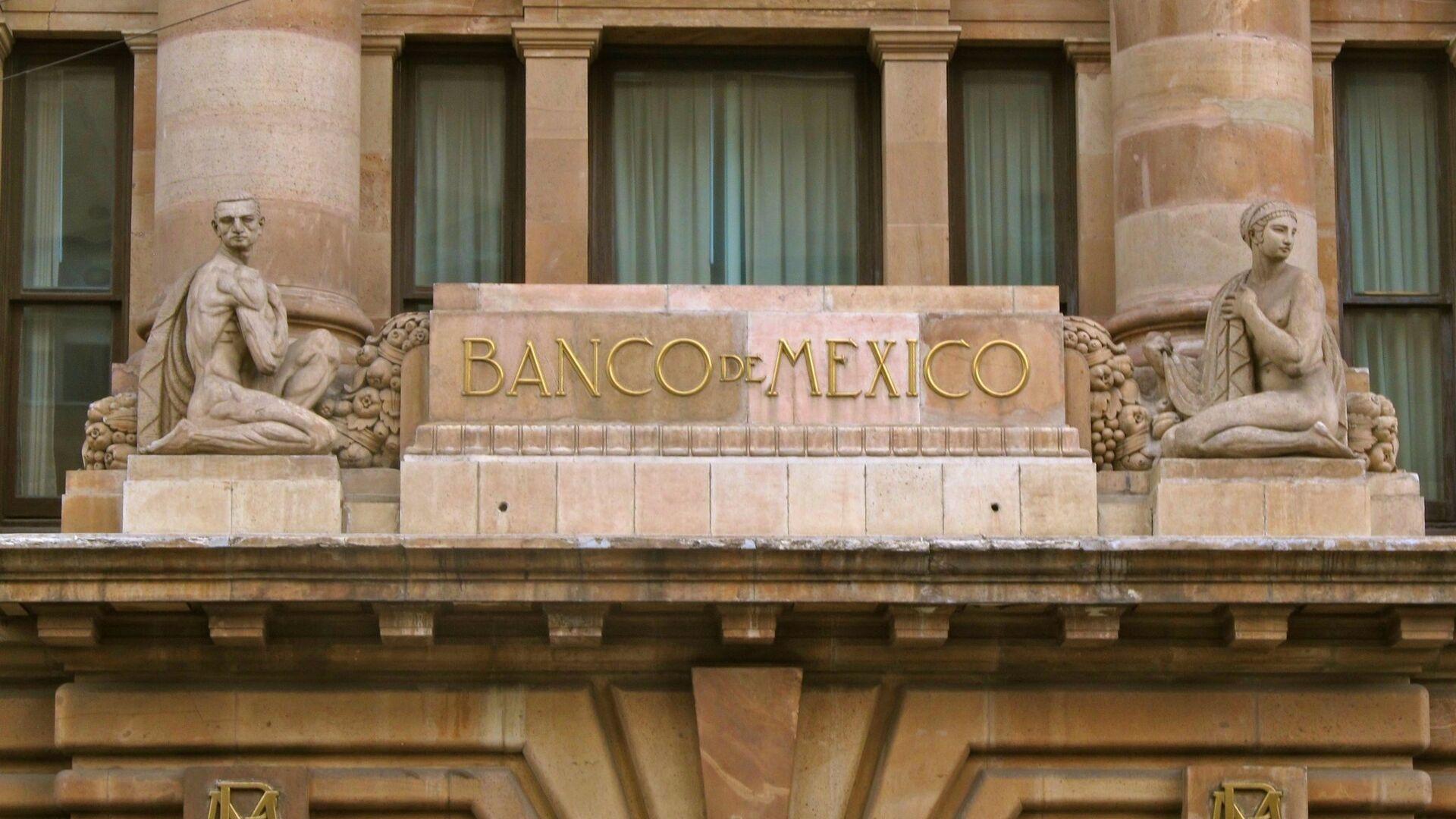 La fachada del Banco de México - Sputnik Mundo, 1920, 09.06.2021