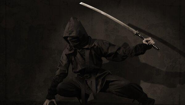 Un ninja (imagen ilustrativa) - Sputnik Mundo