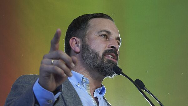 Santiago Abascal, presidente del partido Vox - Sputnik Mundo
