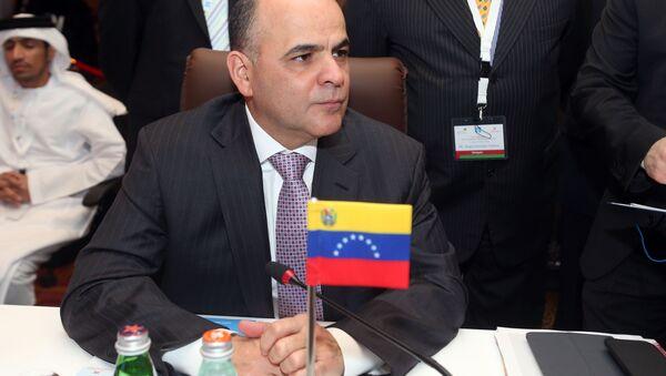 Manuel Quevedo, ministro de Petróleo de Venezuela - Sputnik Mundo