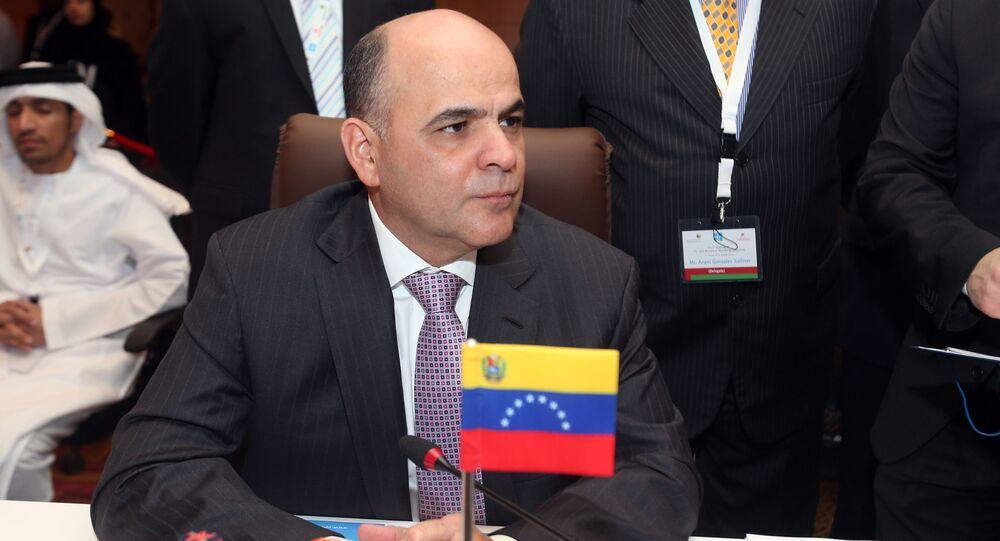 Manuel Quevedo, ministro de Petróleo de Venezuela