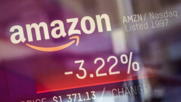 El logo de Amazon - Sputnik Mundo