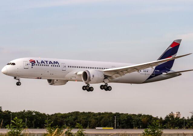 Un avión de Latam