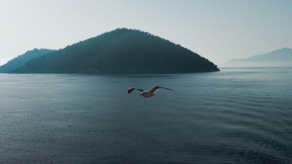 Una isla en el mar Mediterráneo - Sputnik Mundo