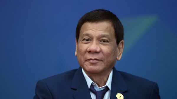 Rodrigo Duterte - Sputnik Mundo