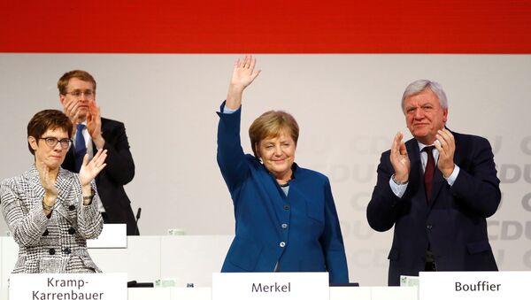 Angela Merkel, canciller federal de Alemania - Sputnik Mundo