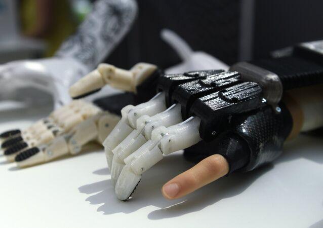 Una prótesis biónica