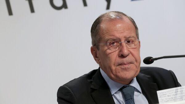 Serguéi Lavrov, ministro de Asuntos Exteriores ruso - Sputnik Mundo
