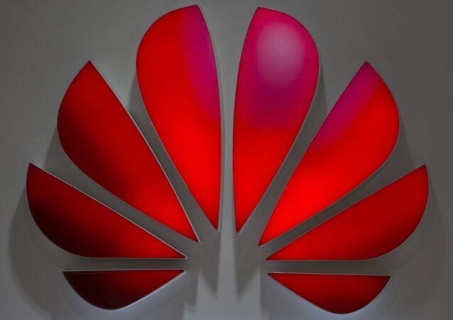 El logo de Huawei (archivo)