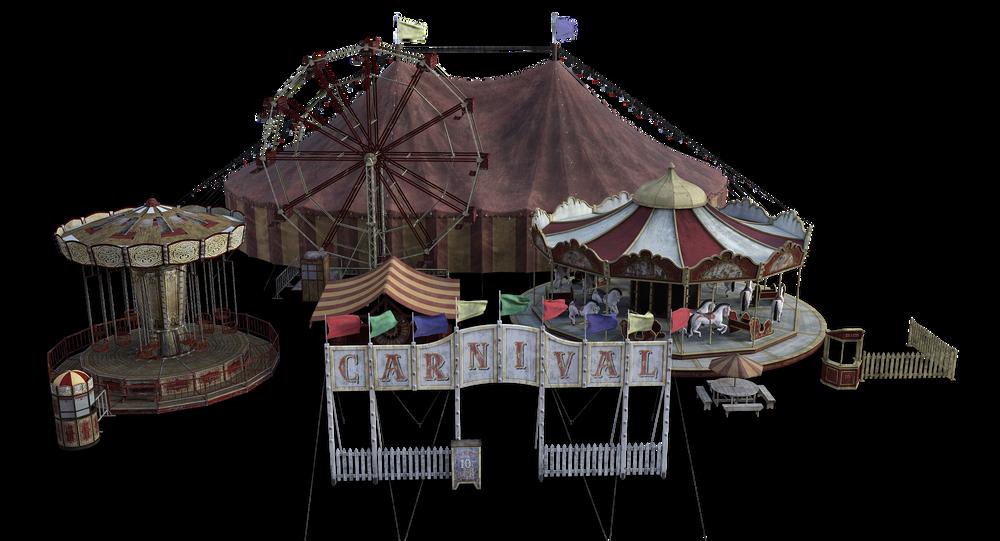 Un circo (imagen referencial)