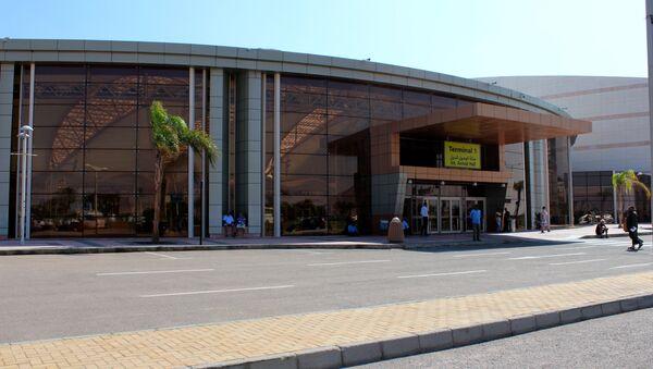 El aeropuerto egipcio de Sharm el Sheikh - Sputnik Mundo