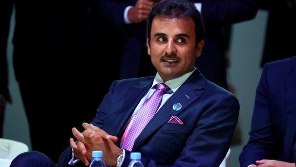 El emir de Catar, Tamim bin Hamad Al Thani - Sputnik Mundo