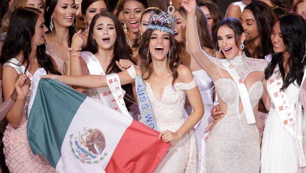 Vanessa Ponce de León, de México, vence en el certamen de belleza Miss Mundo - Sputnik Mundo
