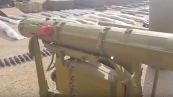 Video: Ejército sirio revela un enorme escondite de municiones de los terroristas - Sputnik Mundo