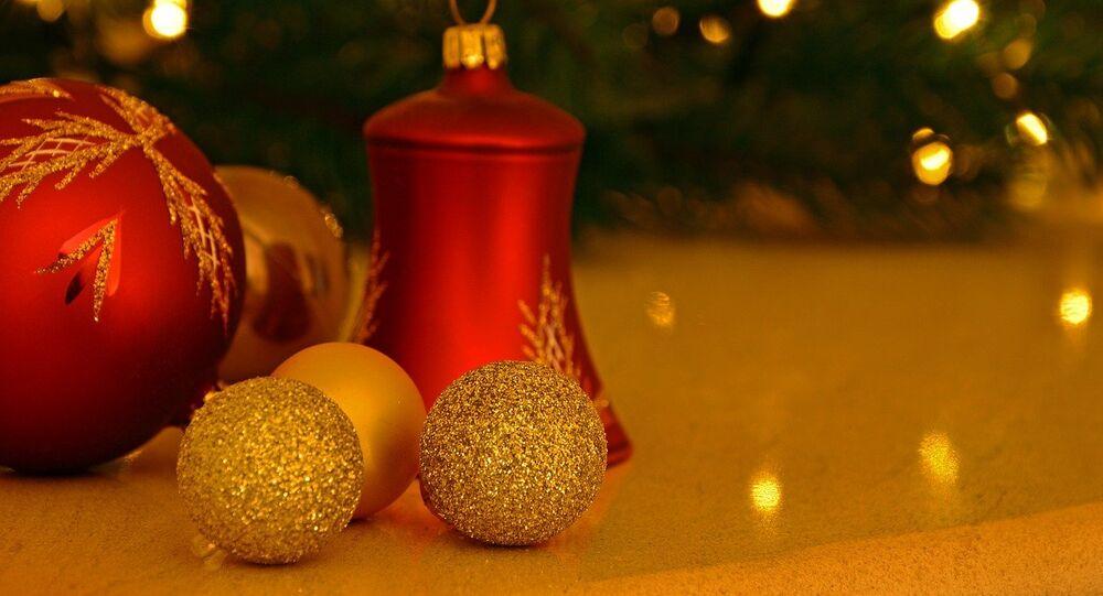 Adornos para árbol de Navidad, referencial