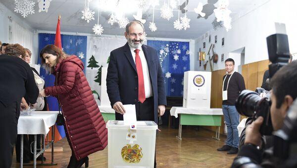 Nikol Pashinián, primer ministro de Armenia en funciones - Sputnik Mundo