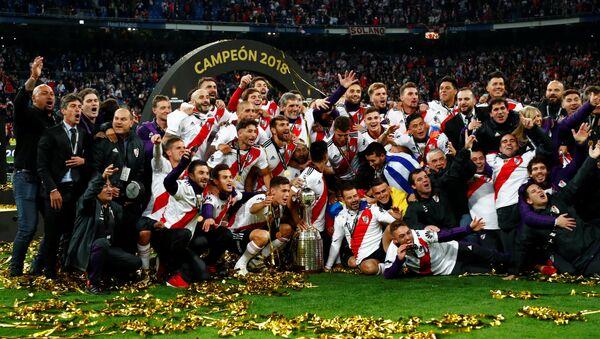 Los jugadores de River Plate - Sputnik Mundo