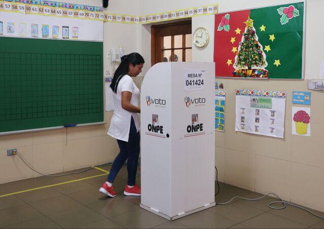 Consulta popular en Perú