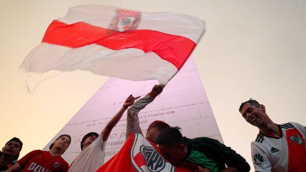 Los hinchas de River Plate en Buenos Aires - Sputnik Mundo