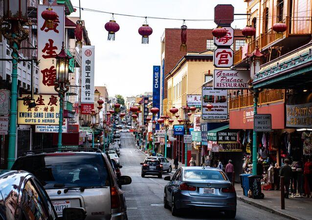 Una calle china