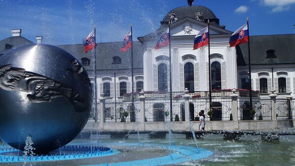 Las banderas de Eslovaquia - Sputnik Mundo