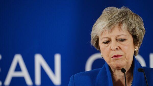 Theresa May, primera ministra del Reino Unido  - Sputnik Mundo