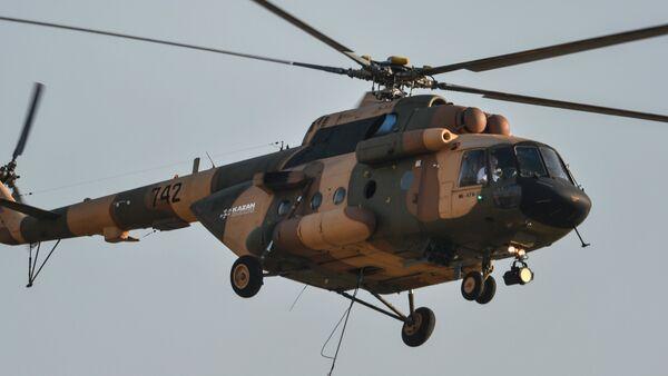 Un helicóptero Mi-17B-5 - Sputnik Mundo