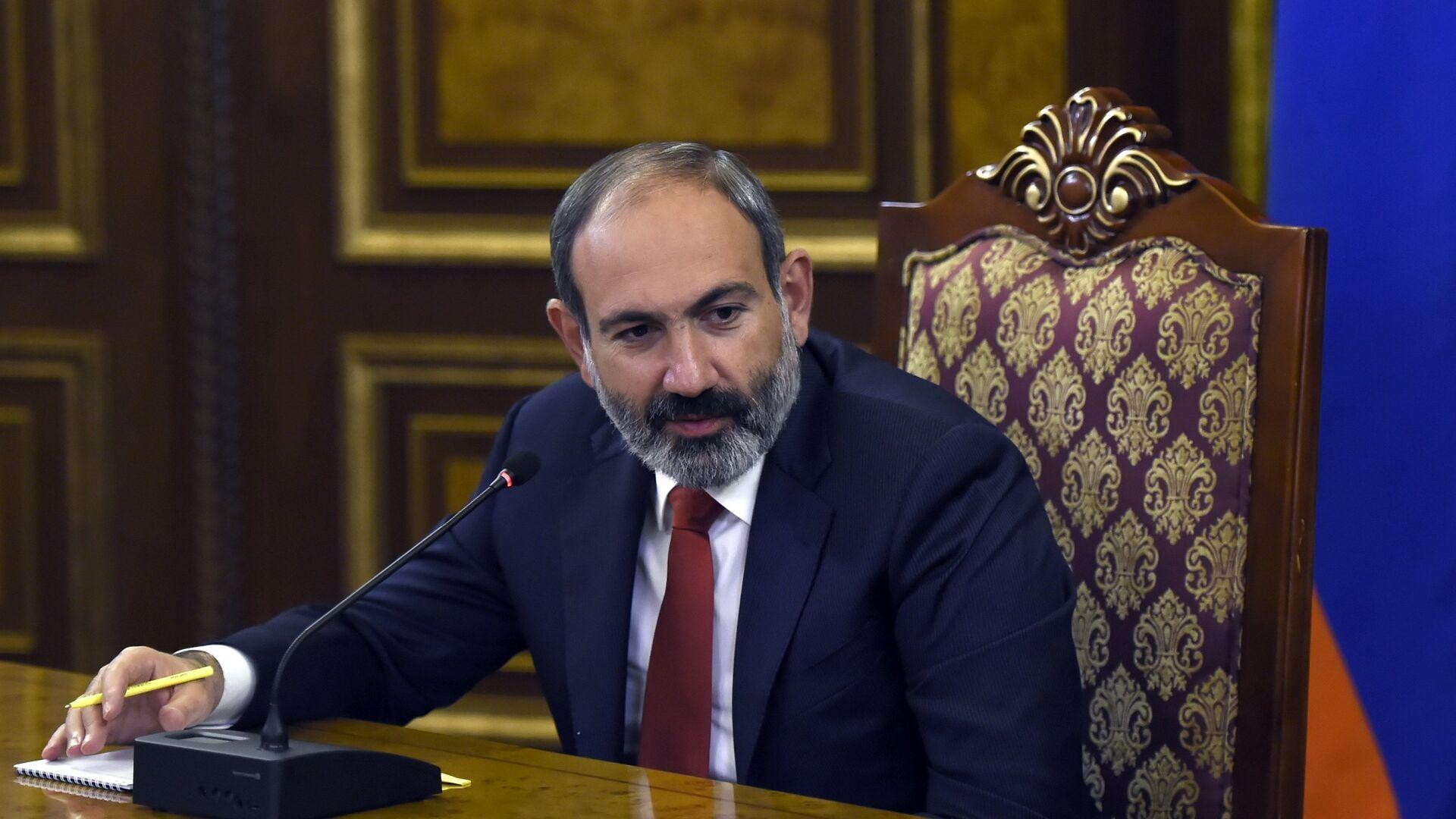 El primer ministro en funciones de Armenia, Nikol Pashinián - Sputnik Mundo, 1920, 18.03.2021