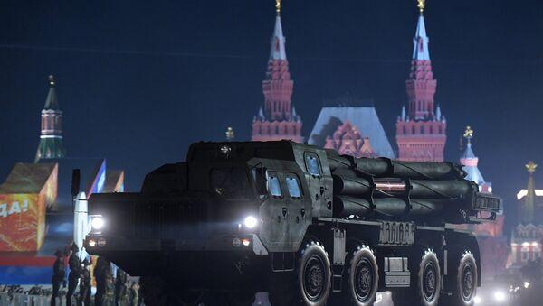 Ночная репетиция парада Победы на Красной площади - Sputnik Mundo