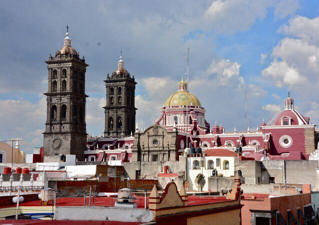 La ciudad de Puebla, México