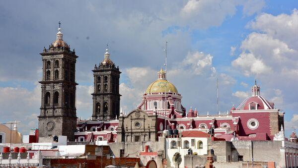 La ciudad de Puebla, México - Sputnik Mundo