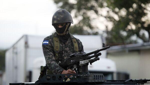 Soldado hondureño (Archivo) - Sputnik Mundo