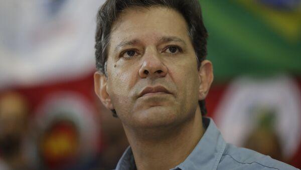 Fernando Haddad, excandidato presidencial brasileño (archivo) - Sputnik Mundo