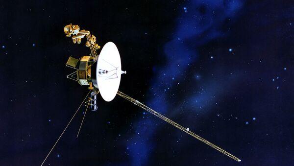 Voyager (ilustracuión artística) - Sputnik Mundo