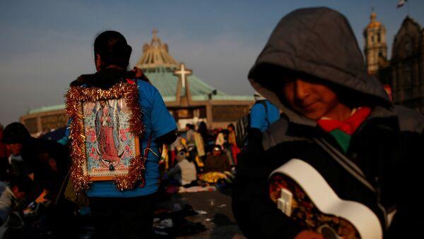 Día de la Virgen de Guadalupe en México - Sputnik Mundo