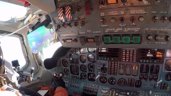 La cabina de uno de los Tu-160 en Venezuela - Sputnik Mundo