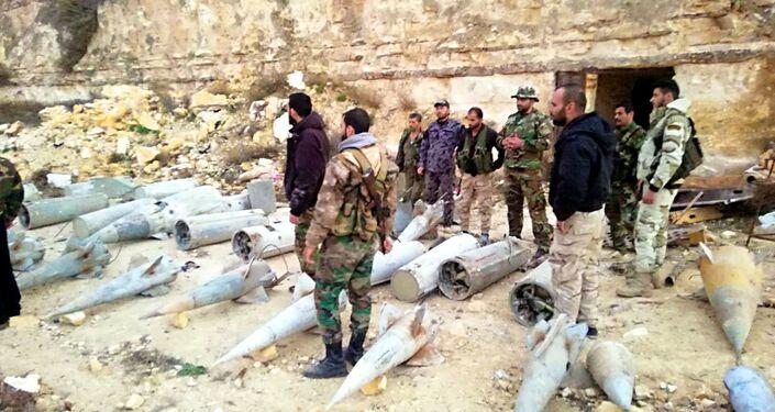 Balas, lanzagranadas, bombas, minas, morteros