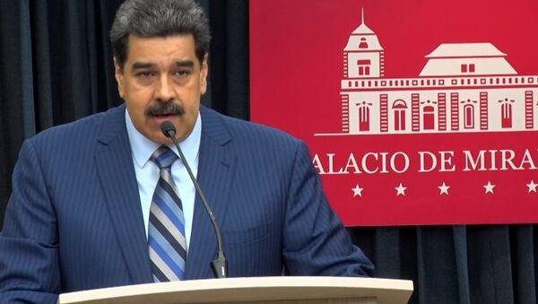 Las declaraciones más fuertes de Maduro durante la rueda de prensa - Sputnik Mundo